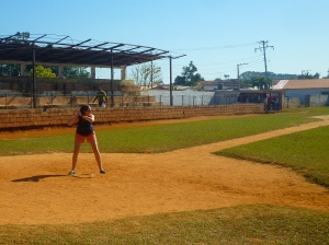 2011: Havana, Cuba. The kid could pitch. I couldn't hit.