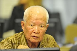 Khieu Samphar  - Former President of Democratic Kampuchea or, Brother #4.