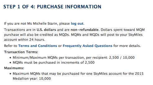 "Rules. Delta calls it ""Purchase Information."" They're rules. Meant to keep ya'll in check."