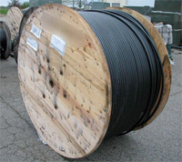 This is coaxial cable. Mine was just like this except I had twice as much.
